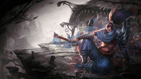 yasuo wallpaper hd 1920x1080 wallpaper league of legends yasuo darkness screenshot