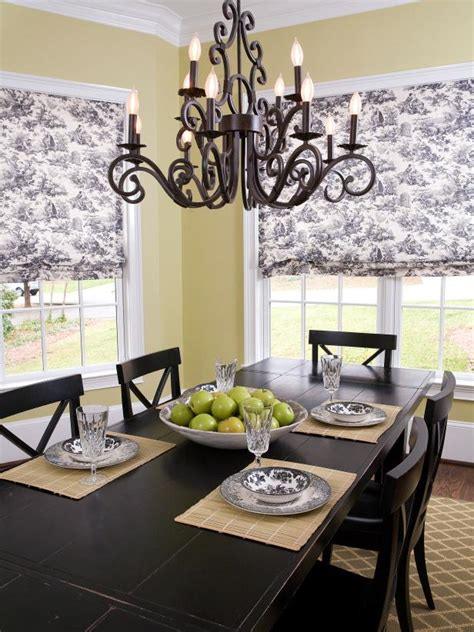 dining room shades photo page hgtv
