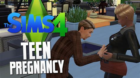 teen pregnancy mod sims 4 download the sims 4 teen pregnancy the sims 4 funny moments 22