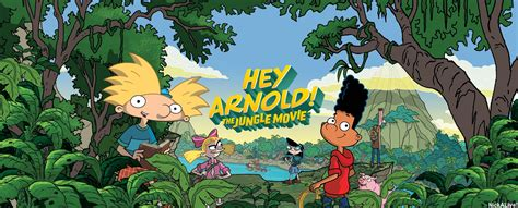 hey arnold the jungle nickalive nickelodeon usa unveils official quot hey arnold