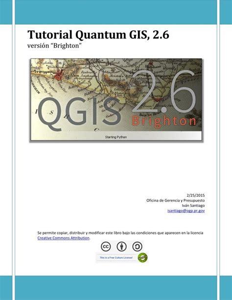 tutorial quantum gis 1 8 bahasa indonesia pdf de programaci 243 n tutorial quantum gis 2 6