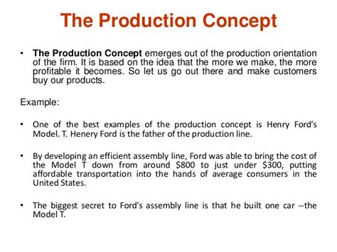 product concept template introduction to marketing and marketing concepts