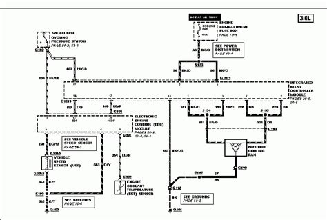 1997 ford taurus cooling system diagram auto engine and