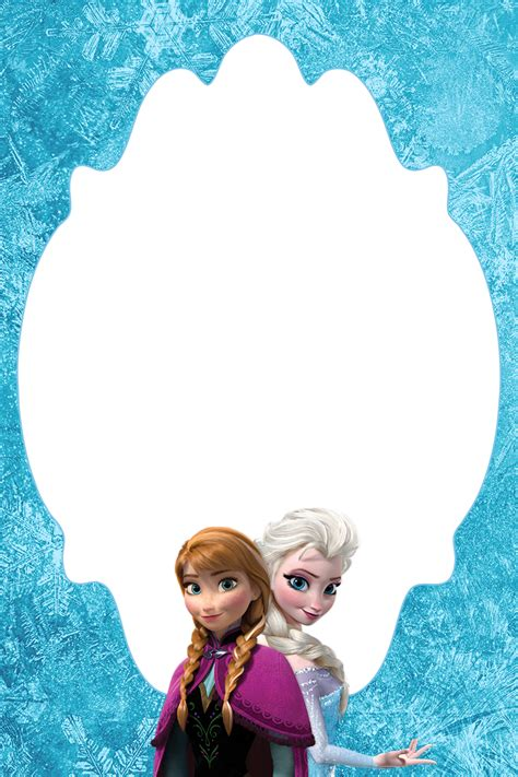 4 215 6 free frozen blank thank you card or treat bag topper