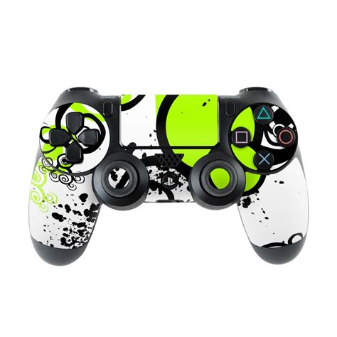 Artwork Proof Template by Sony Ps4 Controller Skin Simply Green By Gaming Decalgirl