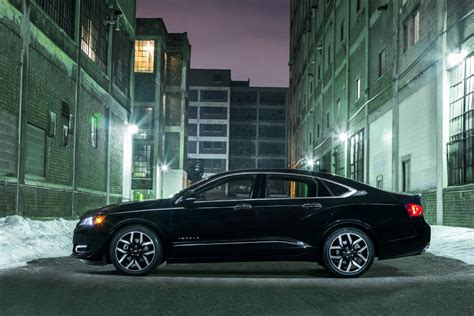 Go Midnight with the Chevy Impala and its Black Wheels and Body