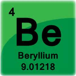 beryllium element cell science notes and projects