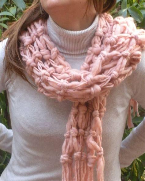 Macrame Shawl - macrame shawl chunky macrame scarf fringe