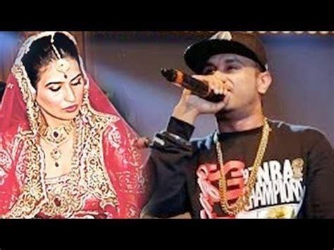 pics on honey singh n his wife honey singh s wife hates his singing youtube