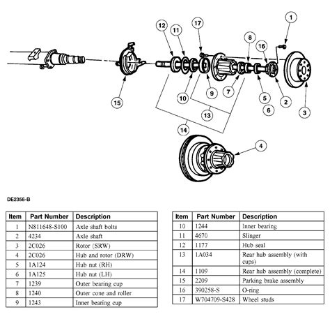 1999 Ford F250 Duty Front Axle Diagram