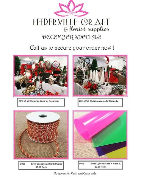 christmas decorations wholesale perth wa leederville craft and florist supplies home