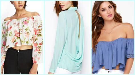 blusas de moda 2016 moda juvenil 2016 youtube blusas de moda tendencias verano youtube
