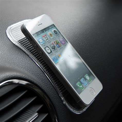 Phone Mat For Car by 5pcs Anti Slip Car Dashboard Sticky Pad Non Slip Mat Gps