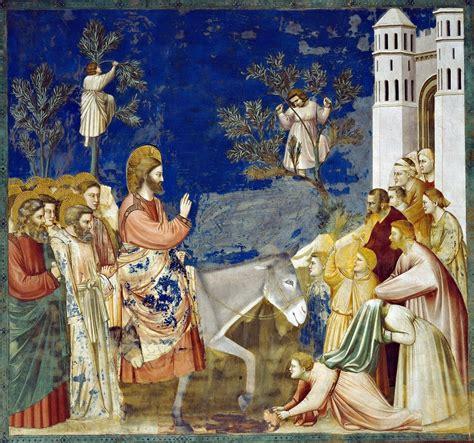 ingresso a gerusalemme pellegrini nel tempo domenica delle palme quot benedetto