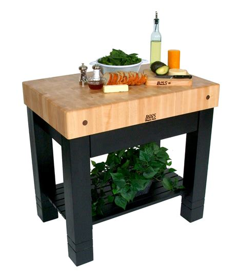boos kitchen island butcher block kitchen islands carts john boos