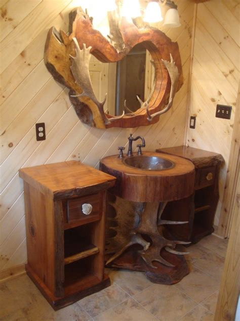 wow  tree stump vanities