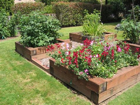 Raised Bed Designs by Raised Beds For Easy Low Maintenance Backyard Gardens