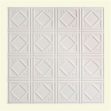 Home Depot Ceiling L by Fasade Traditional 4 2 Ft X 2 Ft Lay In Ceiling Tile