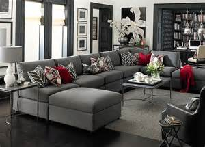 Black And White Striped Accent Chair 4 Ways To Decorate Around Your Charcoal Sofa Maria