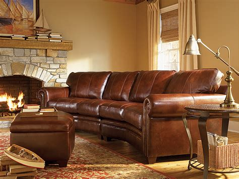 lodge couch leather sectional rustic sofa rustic lodge cabin