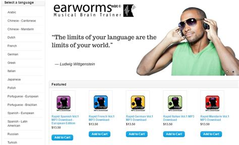 Learn A Language The Fast Way With Earworms by Earworms Language Courses Review The Most Enjoyable