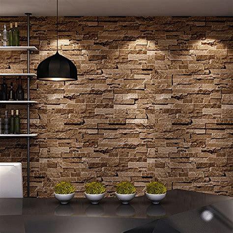Design Brick Wallpaper Ideas Home Brick 3d Wallpaper Nature Visual Effect Cleanable