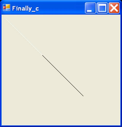 Drawing C Sharp by Draw A Line Line 171 2d Graphics 171 C C Sharp