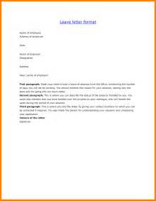 Certification Letter For Vacation Leave 10 Letter For Leave Application For School Job Letteres
