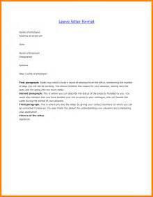 Write Application Leave College 10 Letter For Leave Application For School Job Letteres