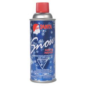 santa spray snow aerosol can nieve neige 13 oz
