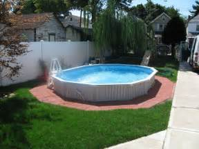 in ground pools semi inground pool semi inground pool installations semi pools