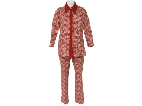 knitted suit vintage personal sixties leisure suit 60s personal