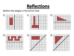 Reflection Worksheet Pdf