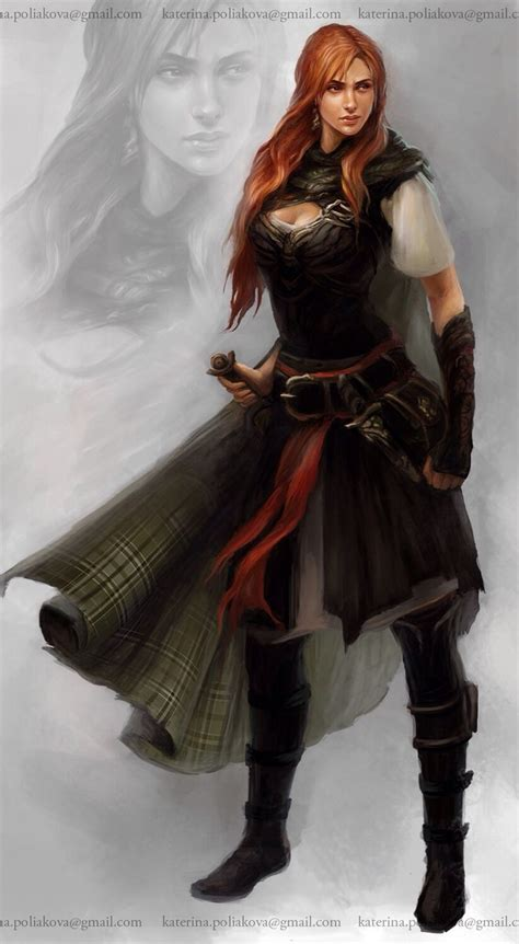 female warrior hair female rouge karaktere pinterest warriors cloaks