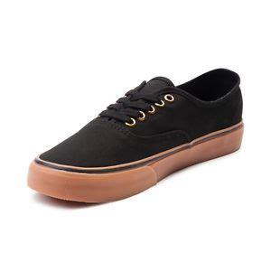 Vans Authentic Rubber Gum vans authentic black rubber gum sole mens womens shoes sneakers sizes ebay