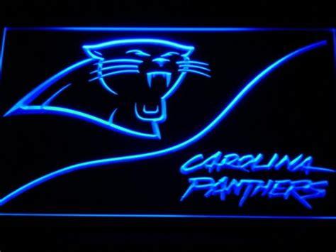 carolina panthers fan signs panthers neon signs carolina panthers neon sign panthers