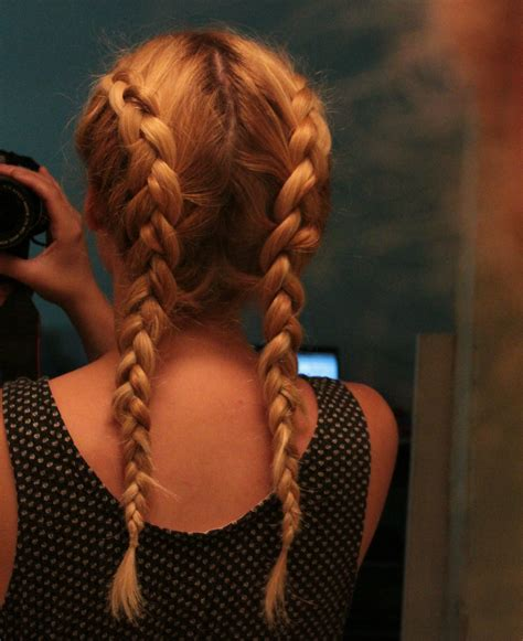 two french braids with weave summer braid obsession creative notions