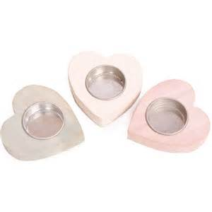 light holder shabby chic wooden wood shabby chic heart tea light holder white duck egg pink ebay