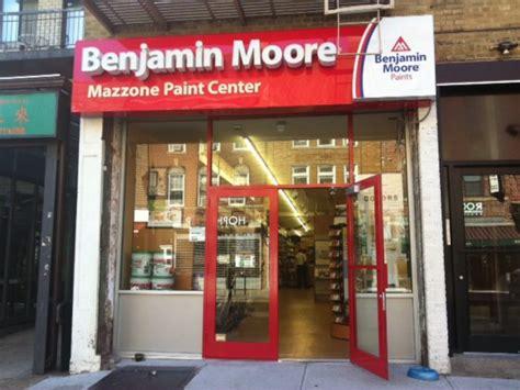 benjamin moore stores mazzone s expands opens benjamin moore paint store on