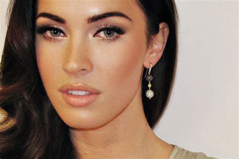 megan foxs makeup how to get her skin bold lip exact look radcollins makeup blog look hot this weekend megan fox