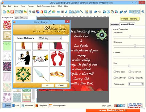 Wedding Card Maker by Screenshots Of Wedding Card Maker Software To Learn How To