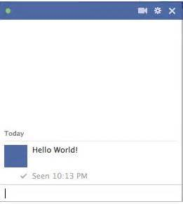 hide seen at is typing feature from facebook chat