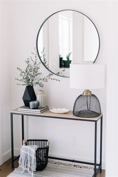 entry table ideas    great  impression