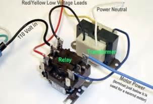 110 volt relay wiring diagram 110 free engine image for user manual