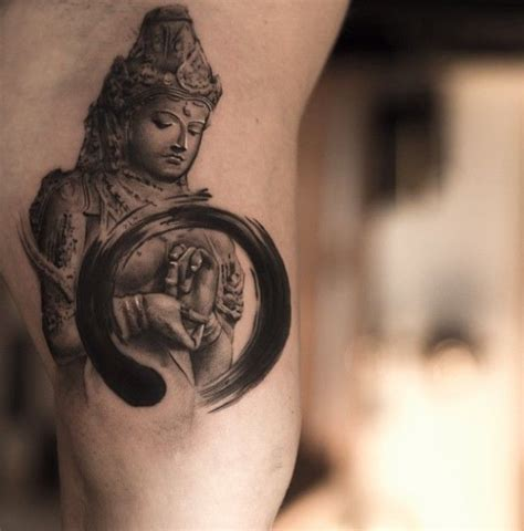 Zen Tattoo Pinterest | 16 zen tattoos for your inner peace tattoo pinterest