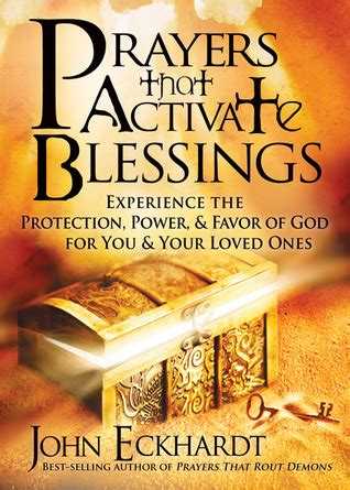 activation a story of god s transforming power books prayers that activate blessings experience the protection