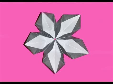 Cool Origami Flower - simple origami flower kusudama how to make origami