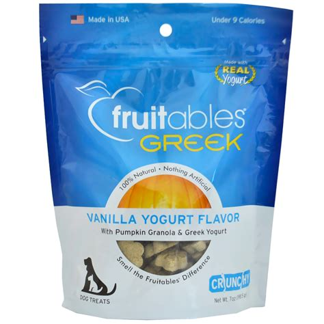yogurt treats fruitables treats vanilla yogurt 7 oz healthypets