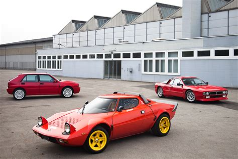 Rally Autos 80er by Lancia Rally Legends The Dirty Years Classic Driver