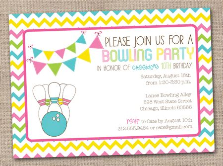 bowling party invitations templates free cliparts co